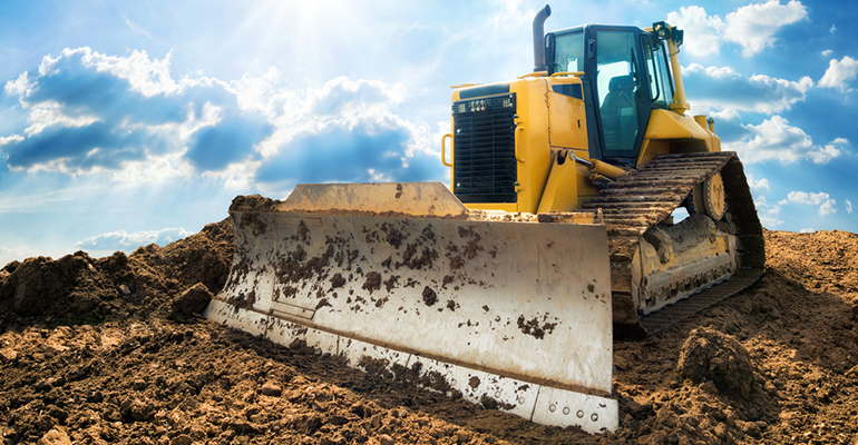 5 types of earthmoving equipment